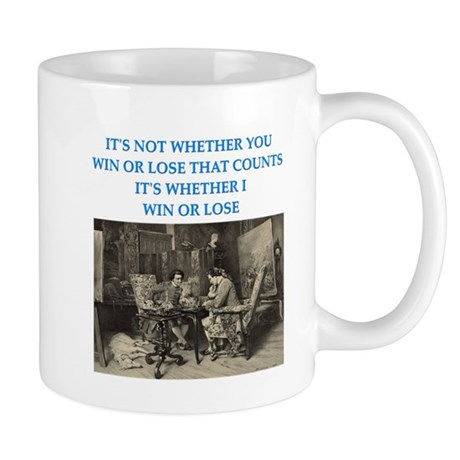 funny chess player Mug