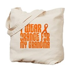 I Wear Orange For My Grandma 16 Tote Bag