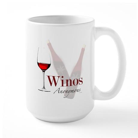 Wine Lovers Large Mug