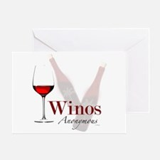 Wine Lovers Greeting Card