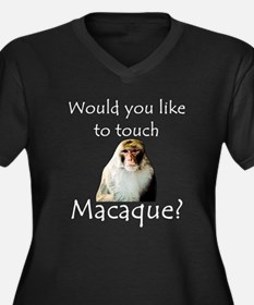 Would you like to touch Macaque Women's Plus Size