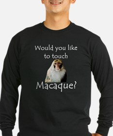 Would you like to touch Macaque T