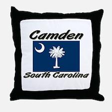 Camden South Carolina Throw Pillow