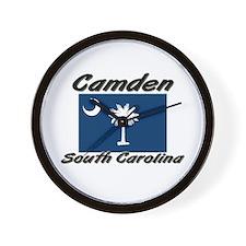 Camden South Carolina Wall Clock