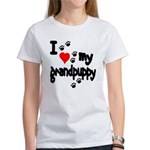 I love my grandpuppy Women's T-Shirt
