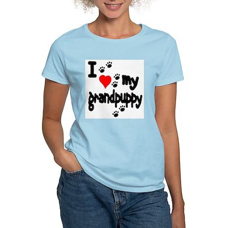 I love my grandpuppy Women's Light T-Shirt