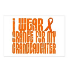I Wear Orange For My Granddaughter 16 Postcards (P