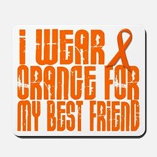 I Wear Orange For My Best Friend 16 Mousepad