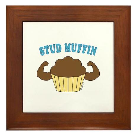 Stud Muffin 2 Framed Tile