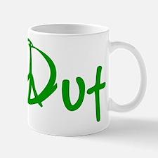 Peace green Mug