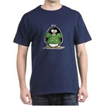 Go Green Penguin Dark T-Shirt