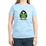Go Green Penguin Women's Light T-Shirt