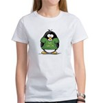 Go Green Penguin Women's T-Shirt
