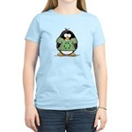 Recycle Penguin Women's Light T-Shirt