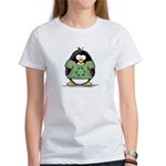 Recycle Penguin Women's T-Shirt
