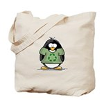 Recycle Penguin Tote Bag