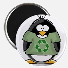 Recycle Penguin Magnet