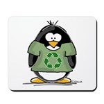 Recycle Penguin Mousepad