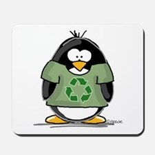 Recycle Penguin Mousepad