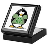 Recycle Penguin Keepsake Box