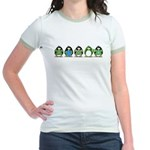 Eco-friendly Penguins Jr. Ringer T-Shirt