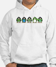 Eco-friendly Penguins Jumper Hoody