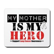 Lung Cancer Hero Mother Mousepad