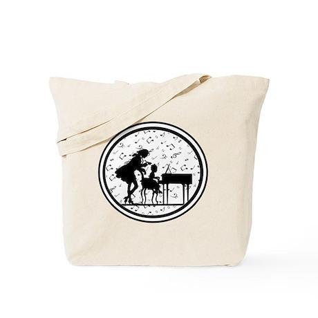 Piano Teacher Tote Bag