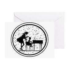 Piano Teacher Greeting Card