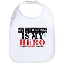 Lung Cancer Hero Grandma Bib