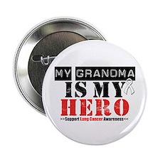 "Lung Cancer Hero Grandma 2.25"" Button"
