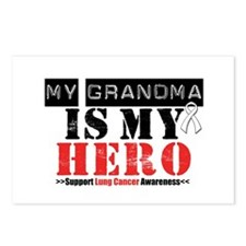 Lung Cancer Hero Grandma Postcards (Package of 8)