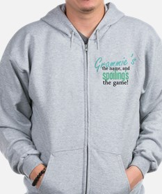Grammie's the Name, and Spoil Zip Hoodie