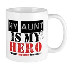 Lung Cancer Hero Aunt Mug