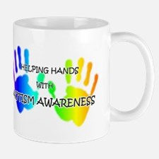 """Helping Hands with Autism Aw Mug"
