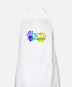 """""""Helping Hands with Autism Aw BBQ Apron"""