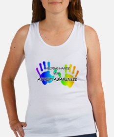 """Helping Hands with Autism Aw Women's Tank Top"