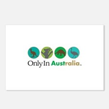 Only In Australia - Animals Postcards (Package of