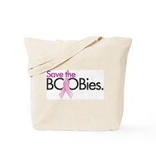 Save the BOOBies Tote Bag