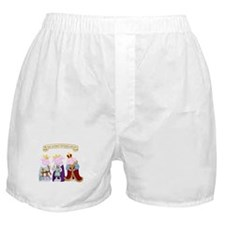 Three Wise Pigs Boxer Shorts