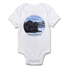 Newfoundland Snow Pair Infant Bodysuit