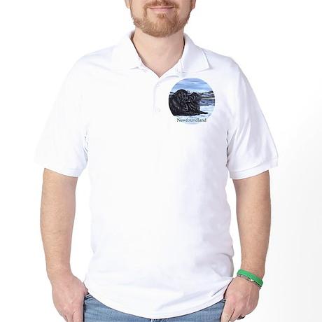 Newfoundland Snow Pair Golf Shirt