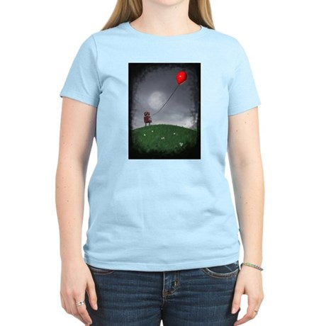 Fly Your Little Red Baloon Women's Light T-Shirt