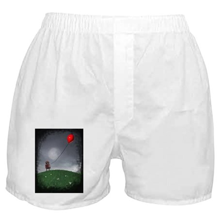 Fly Your Little Red Baloon Boxer Shorts
