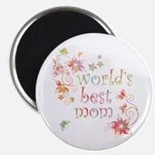 World's Best Mom 2 Magnet