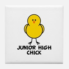 Junior High Chick Tile Coaster
