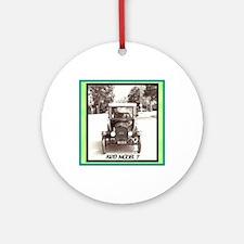 """""""1920 Model T"""" Ornament (Round)"""