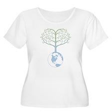Earth Tree Heart T-Shirt