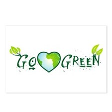 Go Green II Postcards (Package of 8)