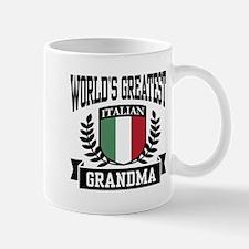 World's Greatest Italian Grandma Mug
